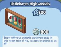 Littlehaven high medals