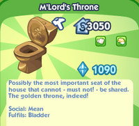 M'Lord's Throne