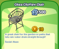 Okea CityView Chair
