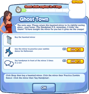 Ghost Town quest