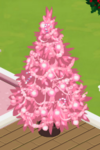 Pink Decorated Tree 5