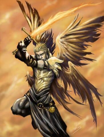 File:Archangel Michael by Isthar art.jpg
