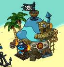 Pirate hut