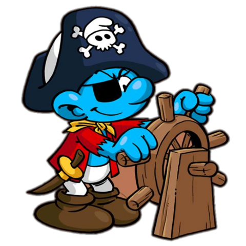 File:Pirate Smurf.png