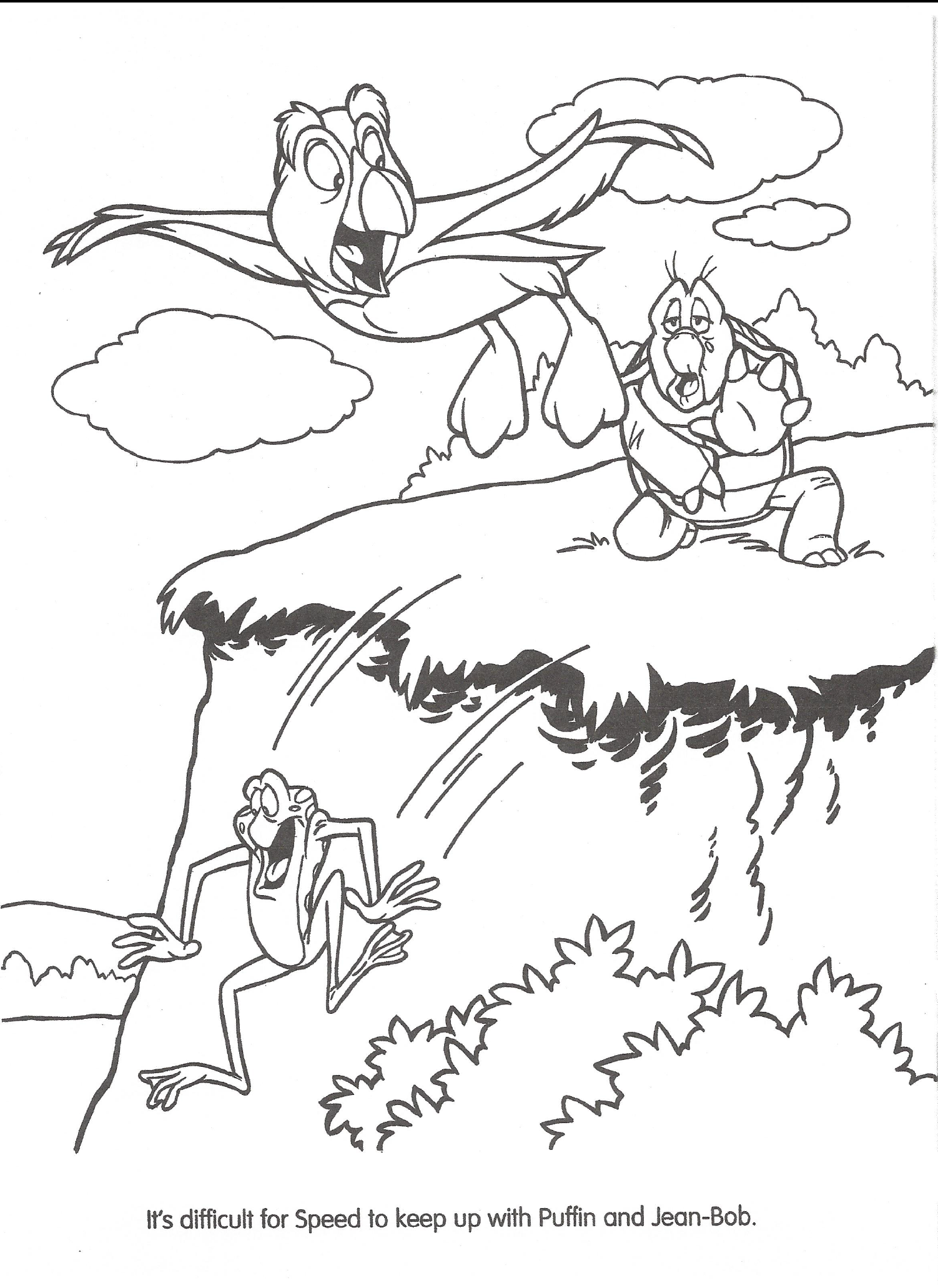 Swan princess coloring pages - File Swan Princess Official Coloring Page 21 Png
