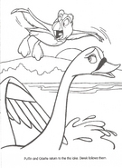 Swan Princess official coloring page 32