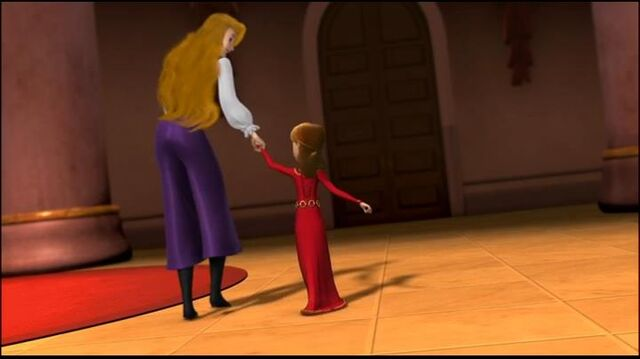 File:Odette with Alise by holding her hand..jpg