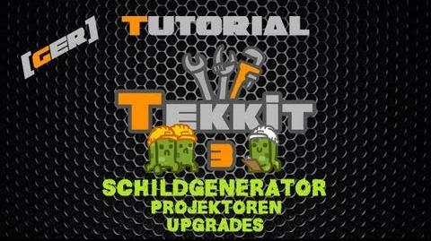 Minecraft Tekkit Classic Tutorial DE HD - Schildgenerator & Projektoren