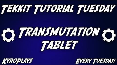 Transmutation Tablet Tutorial Tekkit