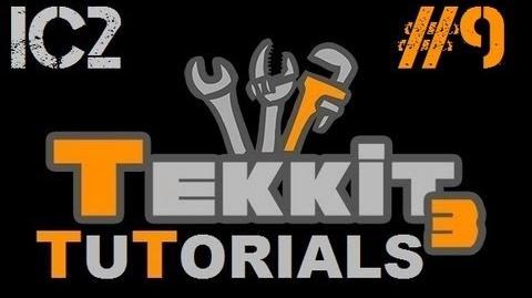 Tekkit Tutorials - IC2 9 - Miners and Pumps-0