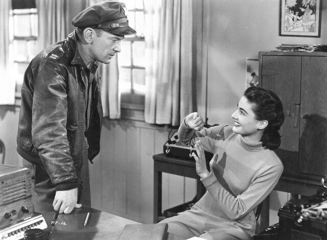 File:Hendry and Nikki in the office - The Thing (1951).jpg