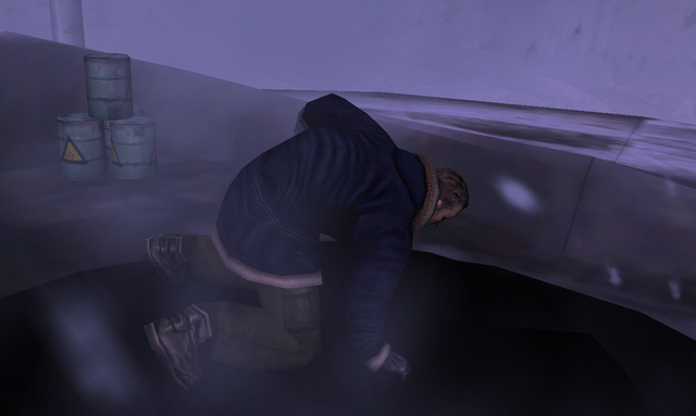 File:Whitely-Thing collapses at the UFO hatch - The Thing (2002).png