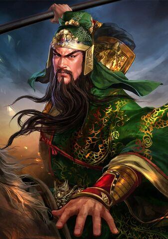 File:Guan Yu (battle high rank young) - RTKXIII.jpg