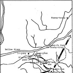 Route of the Han forces