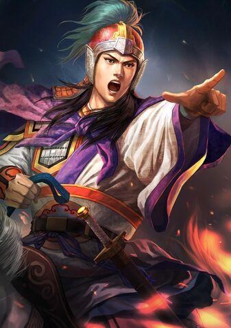 File:Zhou Yu (battle young) - RTKXIII.jpg