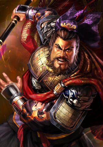File:Dian Wei (battle high rank old) - RTKXIII.jpg