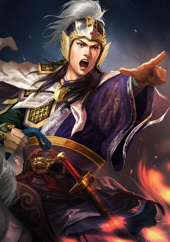 File:Zhou Yu (battle high rank young) - RTKXIII.jpg