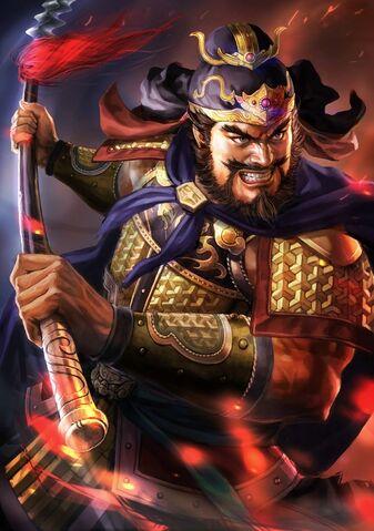 File:Zhang Fei (battle high rank young) - RTKXIII.jpg