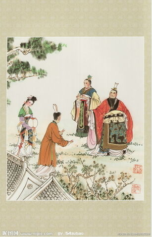 File:Cao Pi & Lady Zhen Art1.jpg