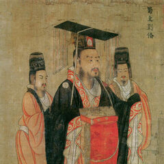 Painting by Yan Liben <br /> Tang Dynasty (618–907)