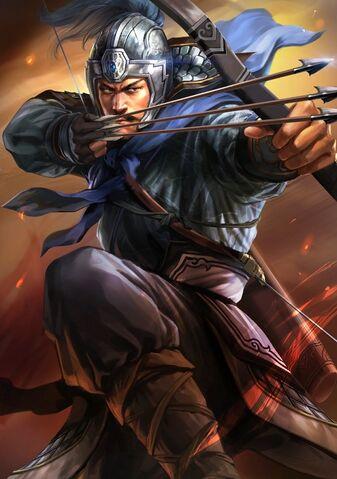 File:Xiahou Yuan (battle young) - RTKXIII.jpg