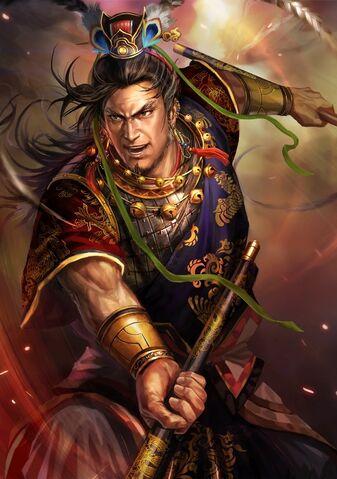 File:Gan Ning (battle high rank old) - RTKXIII.jpg