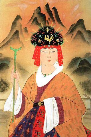 File:Queen Himiko portrait - Yukihiko Yasuda.jpg