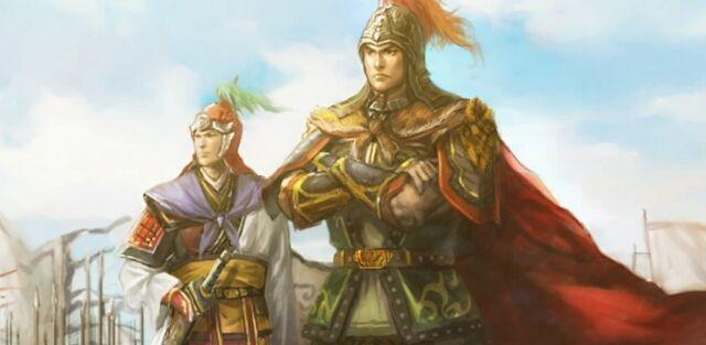 File:Sun Ce and Zhou Yu (cutscene) - RTKXI.jpg