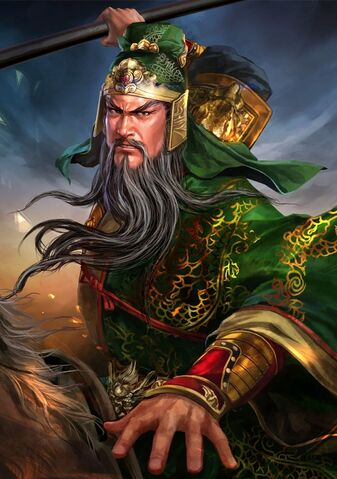 File:Guan Yu (battle high rank old) - RTKXIII.jpg
