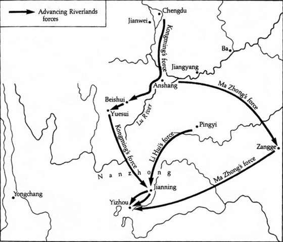 File:Shu-Han route to Nanzhong.png