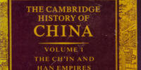 Cambridge History of China volume 1