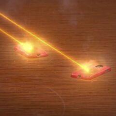 Nora burns the phones