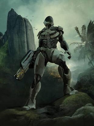 Terran Alliance soldier