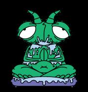 Mess-Mantis Dark-Green Bin-Sects S5