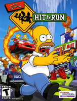 The Simpsons Hit and Run cover