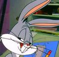 Bugs Bunny portrait