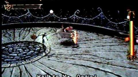 The Nightmare Before Christmas Oogie's Revenge Boss Fight Lock, Shock and Barrel