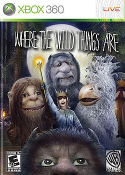 250px-Where the Wild Things Are (Xbox 360) (video game) boxart