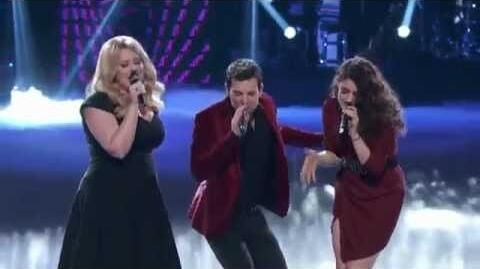 Chris Mann (with Katrina Parker and Lindsey Pavao)
