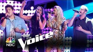 Tess Boyer, Josh Murley, Cali Tucker and Austin Ellis Auditions (The Voice Highlight)