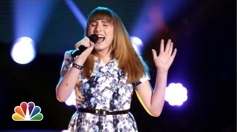 "Caroline Pennell ""Anything Could Happen"" - The Voice Highlight"