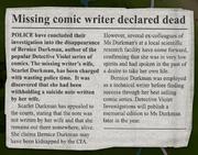 Bernice Durkman Missing
