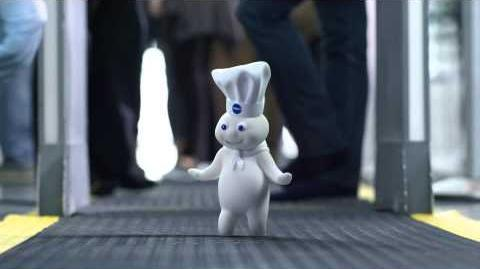 GEICO Dough Boy Commercial - Happier than the Pillsbury Doughboy on His Way to a Baking Convention