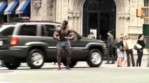 Geico Funny Commercial TV Ad Happier than a Body Builder
