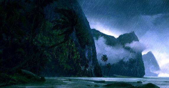 The Nameless Island - coast