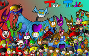 1440x900 Character cluster
