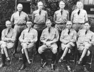 Marshall with Infantry School Staff