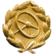 Frontline Driver's Badge (gold)