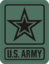 US Army Star Patch (2006 - present)
