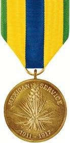 Mexican Service Medal (full)